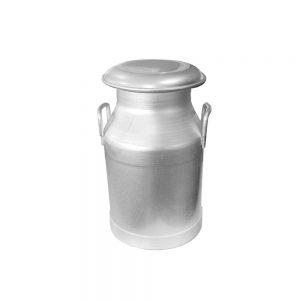 40-lt-gecme-mantar-tipi-kapakli-yandan-sapli-aluminyum-sut-gugumu,-190-mm